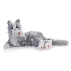 Ageless Innovations Companion Pet_silver cat