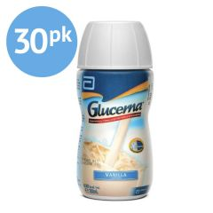 Glucerna - Carton of 30 x 200ml Bottles - Vanilla