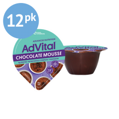 High Calorie Nutritional Support - AdVital Chocolate Mousse