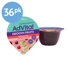 AdVital Smooth Fruits Nutritional Supplement - Carton of 36
