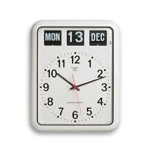 Jadco Wall Clock with Calendar - Large