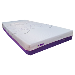 Memory Foam Mattress - iCare IC25 Soft Feel Memory Foam Mattress
