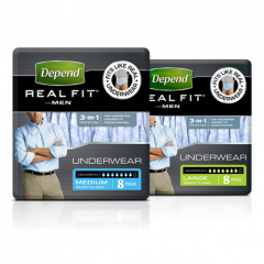 Depend Realfit Men - Pack of 8