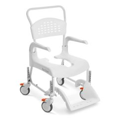 Mobile Shower Commode - Etac Clean Shower Commode_White
