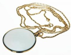 Necklace Magnifier - Gold 4X