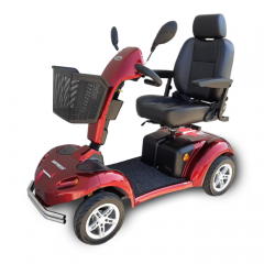 Shoprider Rocky 8 Mobility Scooter Red