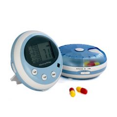 TT5-5V-5-Alarm Vibrating Pill Box (with Pulse Meter)