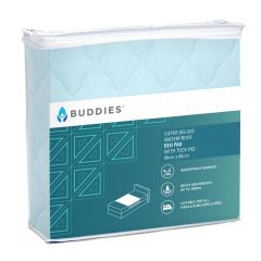 Buddies Super Deluxe Bed Pad with Tuck-in Flaps