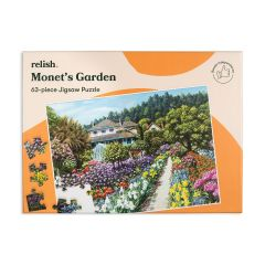 BP633-Active Minds - Jigsaw Puzzle 63 Piece - Monet's Garden