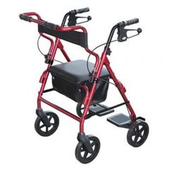 Days 2 In 1 Transit Rollator - Red