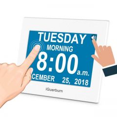 iGuerburn Talking Day Clock