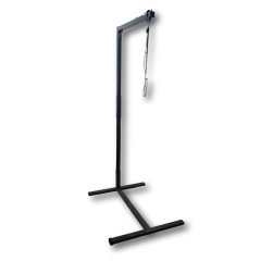 iCare - Self Help Over the Bed Pole - Charcoal