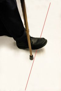 InStep  Laser Cane - Helps Overcome Freezing Gait