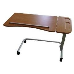 Peak SE-027 Over-Bed Table with Split Table Top