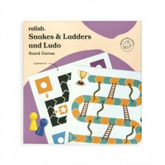 Relish - Snakes and Ladders & Ludo