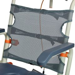 ShowerBuddy - Tensioned Backrest for additional comfort