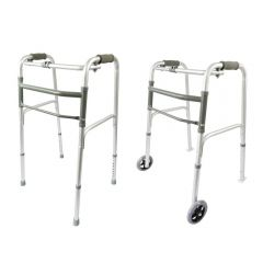 Peak Deluxe Aluminium Folding Walker
